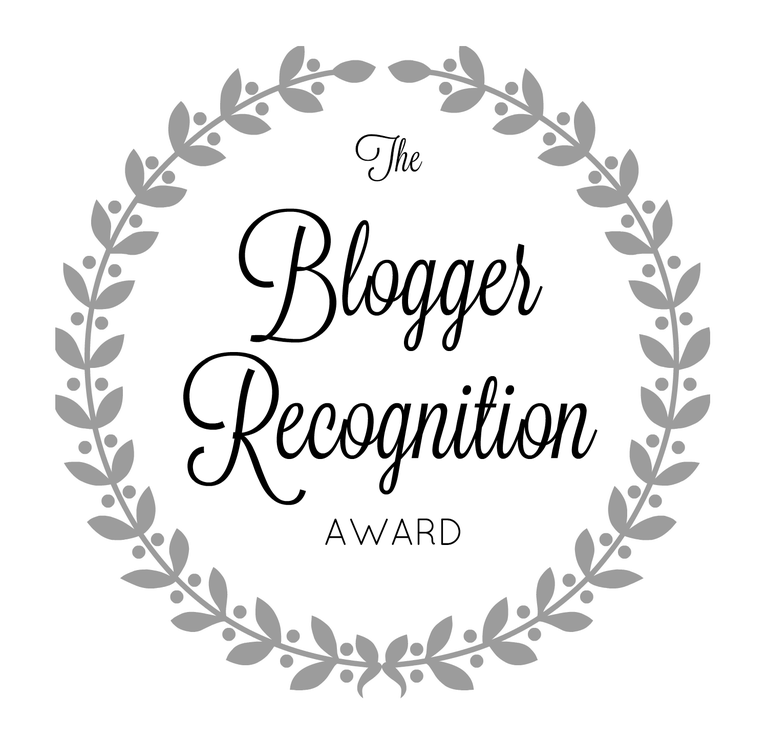 The Blogger Recognition Award 2018