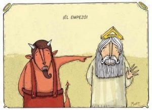 El Bien y El Mal… (Humor)