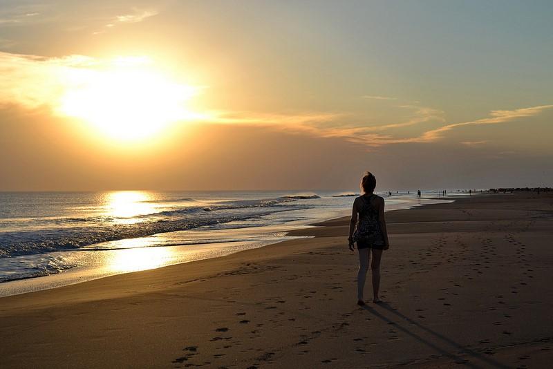 Frente al mar los pensamientos se convierten en caricias…2