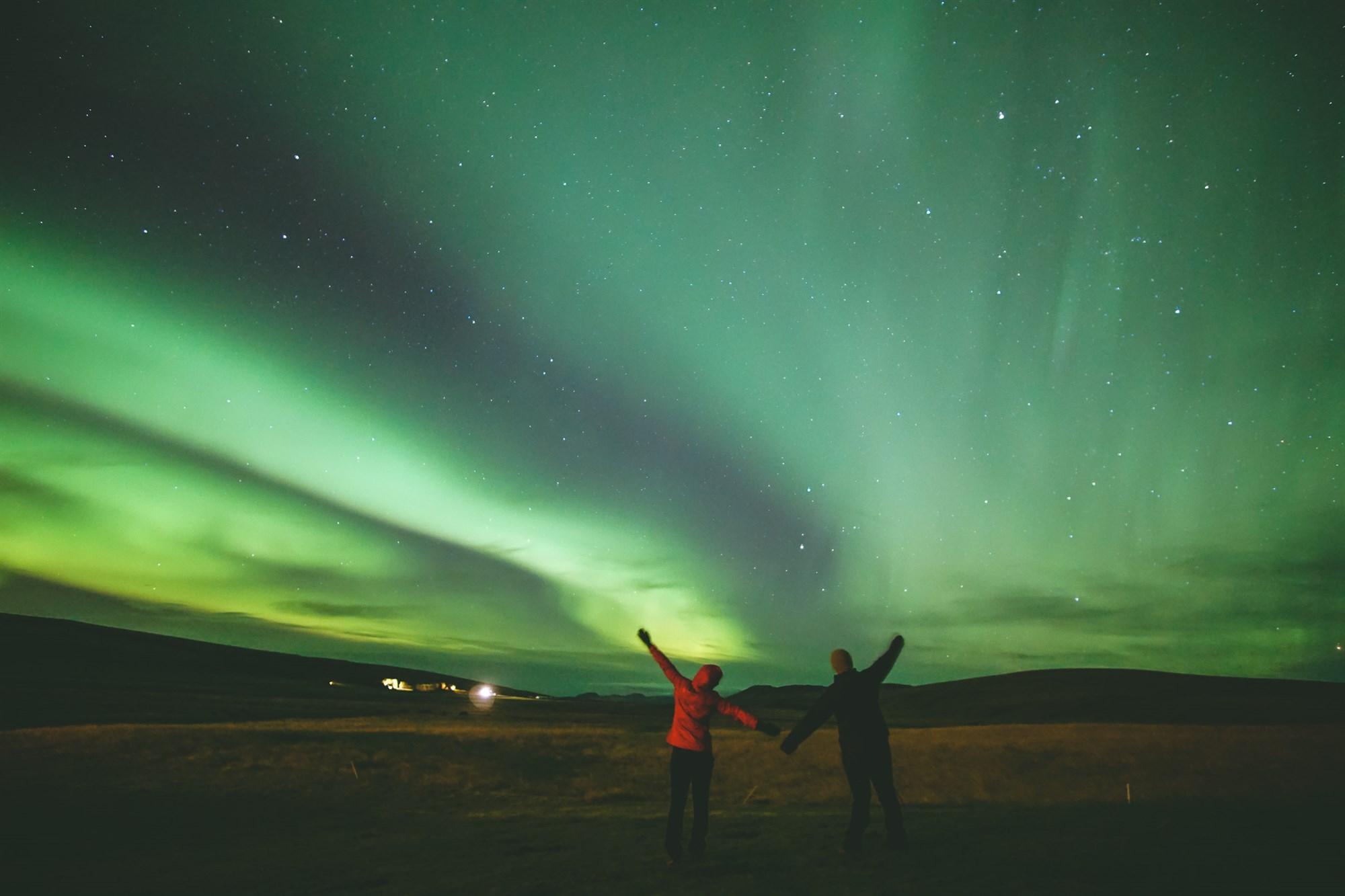 Aurora Boreal –  Islandia –