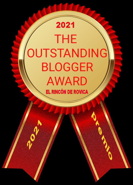 The Outstandig Blogger Award 2021 1