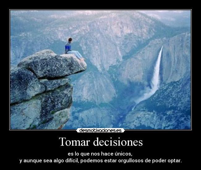 Tomar Decisiones... 4