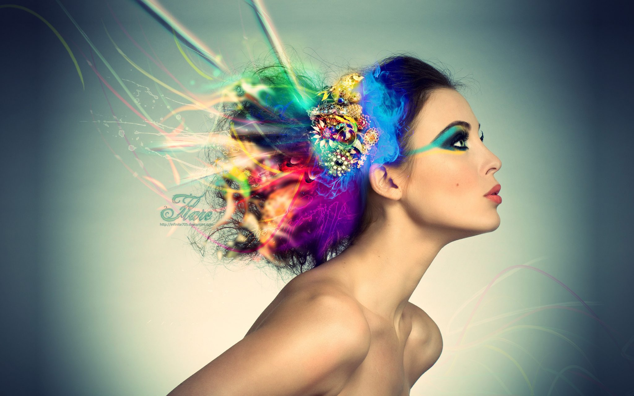 elrinconderovica hair men makeup color girls 1726511 - Corazones De Hielo