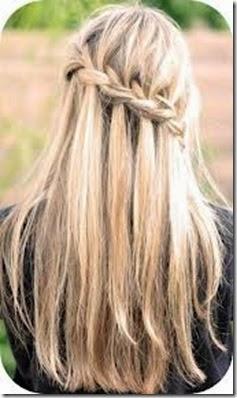 elrinconderovica trenzas de raiz en diagonal con pelo suelto - Estilos de Peinados 2014-2015 para Chicas y Chicos
