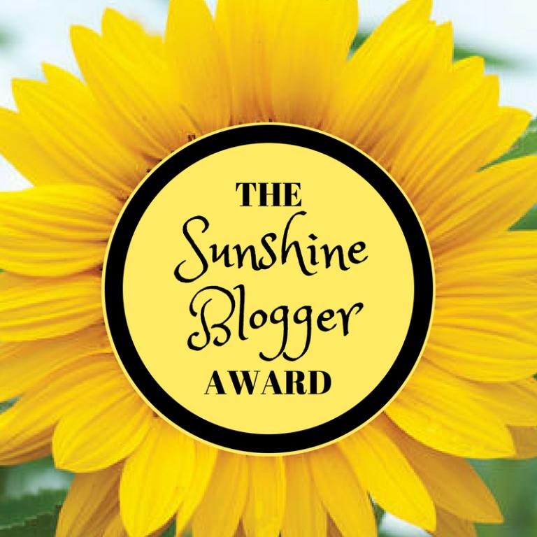 "Premio 5º  De Award : El ""Sunshine Blogger Award 2019"""